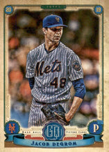 Load image into Gallery viewer, 2019 Topps Gypsy Queen Baseball Cards (101-200): #200 Jacob deGrom