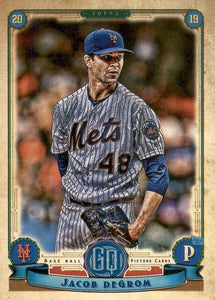 2019 Topps Gypsy Queen Baseball Cards (101-200): #200 Jacob deGrom