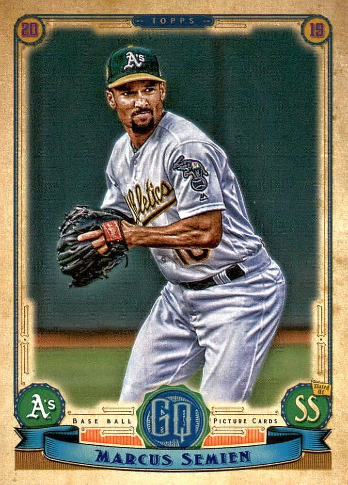 2019 Topps Gypsy Queen Baseball Cards (201-300): #201 Marcus Semien