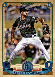 2019 Topps Gypsy Queen Baseball Cards (201-300): #206 Sandy Alcantara