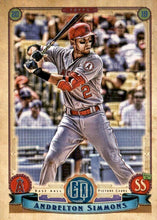 Load image into Gallery viewer, 2019 Topps Gypsy Queen Baseball Cards (201-300): #207 Andrelton Simmons