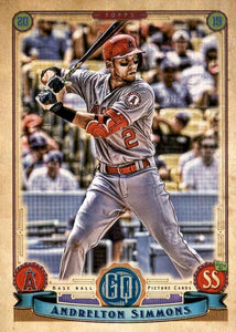 2019 Topps Gypsy Queen Baseball Cards (201-300): #207 Andrelton Simmons