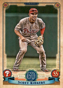 2019 Topps Gypsy Queen Baseball Cards (201-300): #209 Scott Kingery