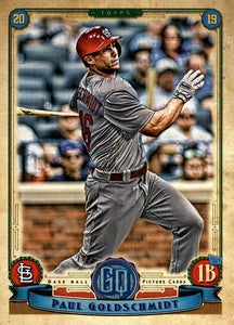 2019 Topps Gypsy Queen Baseball Cards (201-300): #210 Paul Goldschmidt