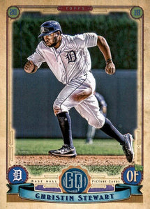 2019 Topps Gypsy Queen Baseball Cards (201-300): #212 Christin Stewart RC