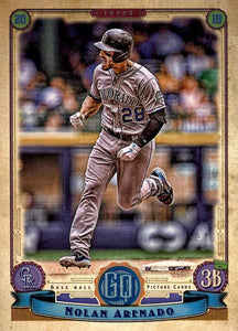 2019 Topps Gypsy Queen Baseball Cards (201-300): #213 Nolan Arenado