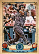 Load image into Gallery viewer, 2019 Topps Gypsy Queen Baseball Cards (201-300): #214 David Peralta