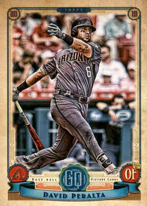 2019 Topps Gypsy Queen Baseball Cards (201-300): #214 David Peralta