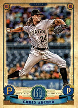 Load image into Gallery viewer, 2019 Topps Gypsy Queen Baseball Cards (201-300): #215 Chris Archer