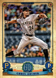 2019 Topps Gypsy Queen Baseball Cards (201-300): #215 Chris Archer