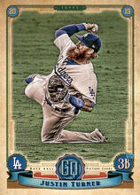 Load image into Gallery viewer, 2019 Topps Gypsy Queen Baseball Cards (201-300): #221 Justin Turner