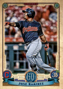 2019 Topps Gypsy Queen Baseball Cards (201-300): #227 Jose Ramirez