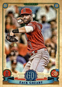 2019 Topps Gypsy Queen Baseball Cards (201-300): #229 Zack Cozart