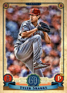2019 Topps Gypsy Queen Baseball Cards (201-300): #231 Tyler Skaggs