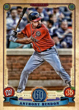 Load image into Gallery viewer, 2019 Topps Gypsy Queen Baseball Cards (201-300): #234 Anthony Rendon