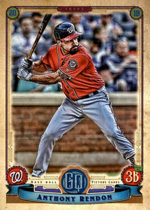 2019 Topps Gypsy Queen Baseball Cards (201-300): #234 Anthony Rendon