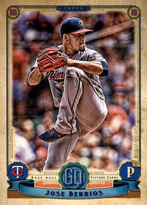 2019 Topps Gypsy Queen Baseball Cards (201-300): #238 Jose Berrios
