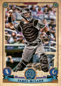 2019 Topps Gypsy Queen Baseball Cards (201-300): #239 James McCann