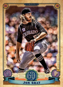 2019 Topps Gypsy Queen Baseball Cards (201-300): #240 Jon Gray