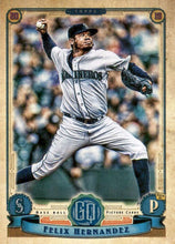 Load image into Gallery viewer, 2019 Topps Gypsy Queen Baseball Cards (201-300): #242 Felix Hernandez