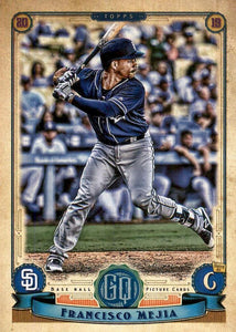 2019 Topps Gypsy Queen Baseball Cards (201-300): #243 Francisco Mejia