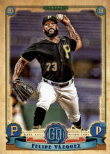 Load image into Gallery viewer, 2019 Topps Gypsy Queen Baseball Cards (201-300): #244 Felipe Vázquez