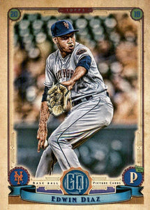 2019 Topps Gypsy Queen Baseball Cards (201-300): #247 Edwin Diaz