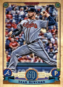 2019 Topps Gypsy Queen Baseball Cards (201-300): #250 Sean Newcomb