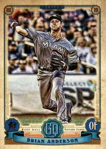2019 Topps Gypsy Queen Baseball Cards (201-300): #256 Brian Anderson