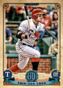 2019 Topps Gypsy Queen Baseball Cards (201-300): #258 Shin-Soo Choo