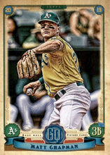 Load image into Gallery viewer, 2019 Topps Gypsy Queen Baseball Cards (201-300): #260 Matt Chapman