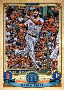 2019 Topps Gypsy Queen Baseball Cards (201-300): #263 David Price