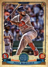 Load image into Gallery viewer, 2019 Topps Gypsy Queen Baseball Cards (201-300): #266 Jose Martinez