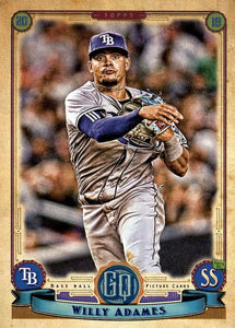 2019 Topps Gypsy Queen Baseball Cards (201-300): #268 Willy Adames