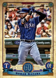 2019 Topps Gypsy Queen Baseball Cards (201-300): #269 Nomar Mazara