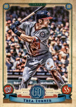 Load image into Gallery viewer, 2019 Topps Gypsy Queen Baseball Cards (201-300): #271 Trea Turner