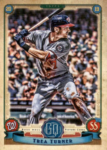 2019 Topps Gypsy Queen Baseball Cards (201-300): #271 Trea Turner