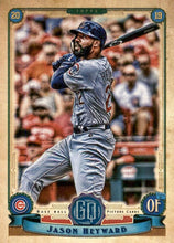Load image into Gallery viewer, 2019 Topps Gypsy Queen Baseball Cards (201-300): #272 Jason Heyward