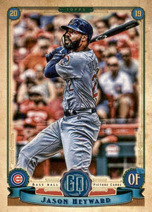 2019 Topps Gypsy Queen Baseball Cards (201-300): #272 Jason Heyward