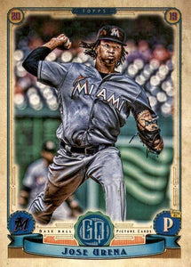 2019 Topps Gypsy Queen Baseball Cards (201-300): #273 Jose Urena