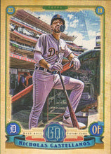 Load image into Gallery viewer, 2019 Topps Gypsy Queen Baseball Cards (201-300): #274 Nicholas Castellanos