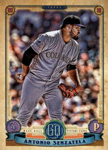 Load image into Gallery viewer, 2019 Topps Gypsy Queen Baseball Cards (201-300): #275 Antonio Senzatela