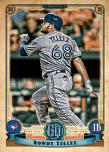 Load image into Gallery viewer, 2019 Topps Gypsy Queen Baseball Cards (201-300): #276 Rowdy Tellez RC