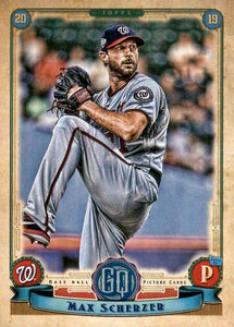 2019 Topps Gypsy Queen Baseball Cards (201-300): #277 Max Scherzer
