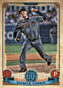2019 Topps Gypsy Queen Baseball Cards (201-300): #279 Patrick Corbin