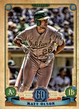 Load image into Gallery viewer, 2019 Topps Gypsy Queen Baseball Cards (201-300): #280 Matt Olson
