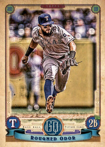 2019 Topps Gypsy Queen Baseball Cards (201-300): #282 Rougned Odor
