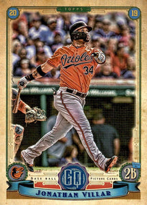 2019 Topps Gypsy Queen Baseball Cards (201-300): #284 Jonathan Villar