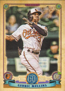 2019 Topps Gypsy Queen Baseball Cards (201-300): #287 Cedric Mullins RC
