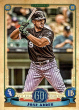 Load image into Gallery viewer, 2019 Topps Gypsy Queen Baseball Cards (201-300): #288 Jose Abreu